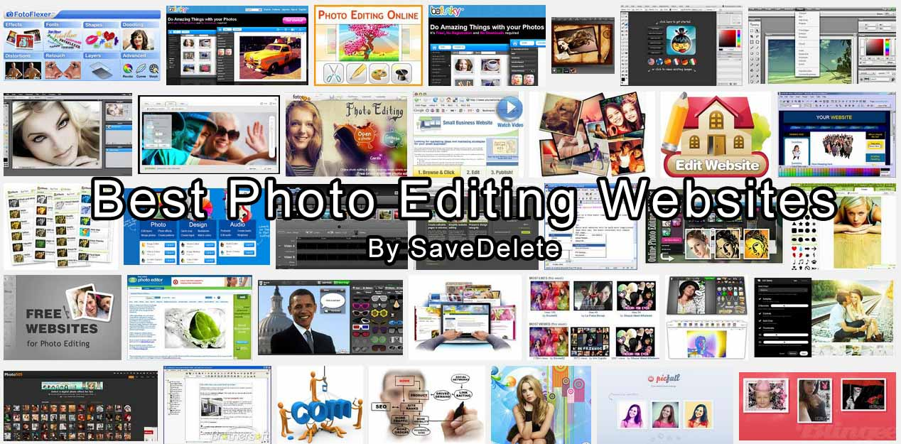 Best Photo Editing Websites in 2014