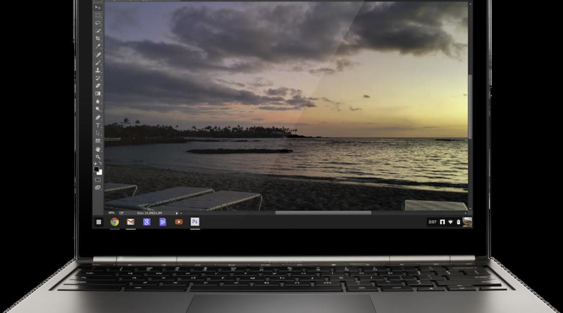Photoshop in Chromebook