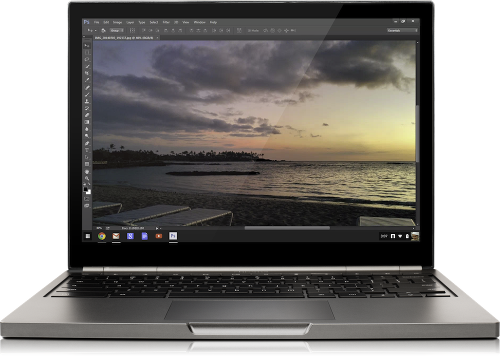 Photoshop in Chromebook
