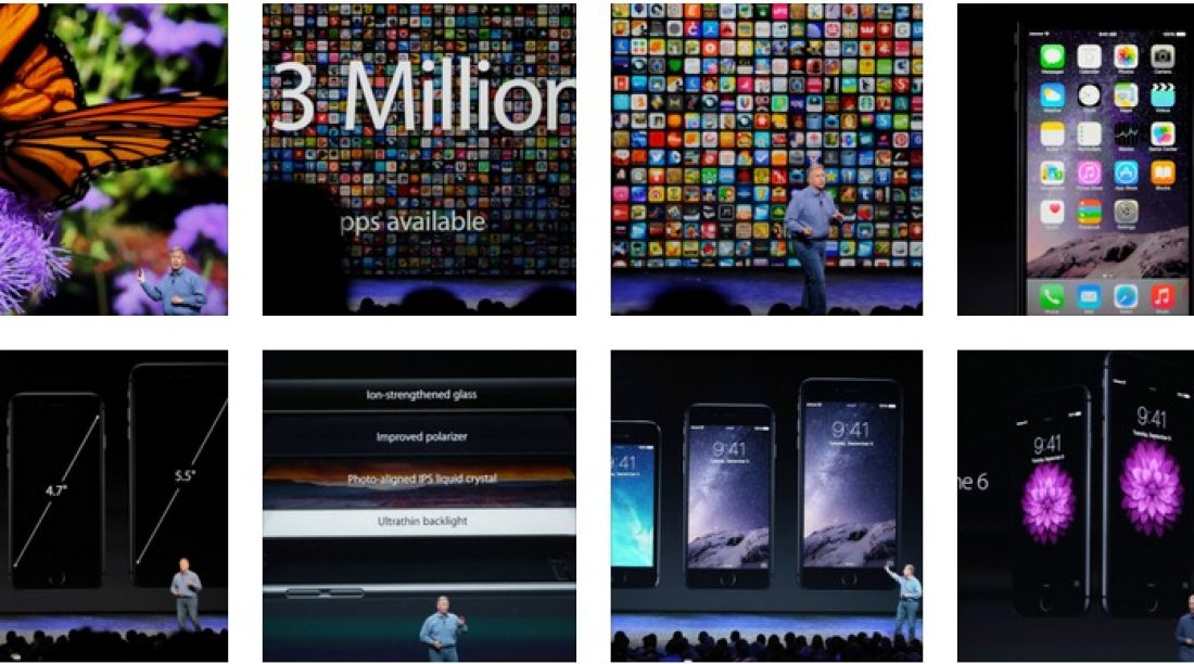Apple New - iPhone 6 with 4.7 inch, iPhone 6+ with 5.5 inch