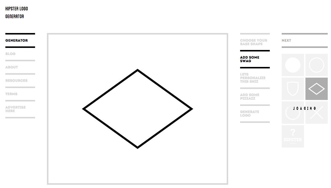 15 best free logo maker creators for quick branding for Hipster logo generator