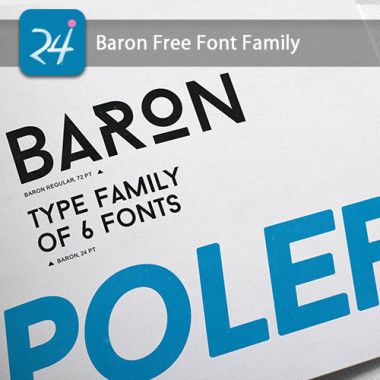 Baron Classic San Serif Free font