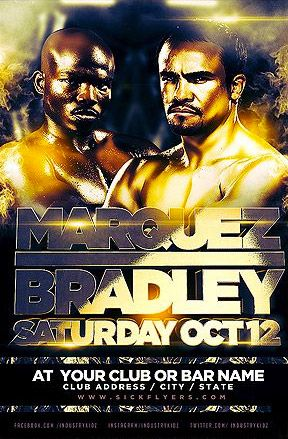 Bradley Marquez Free Poster Template