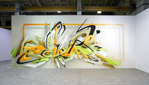 Daim : DEIM 3D Graffiti at its best.