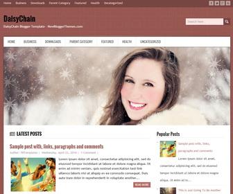 DaisyChain-Blogger-Template