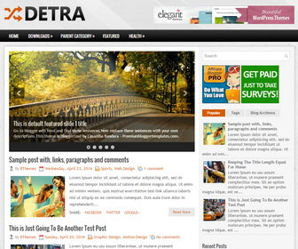 Detra-Blogger-Template