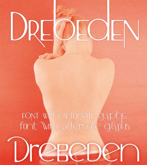 Drebeden Font Free Download