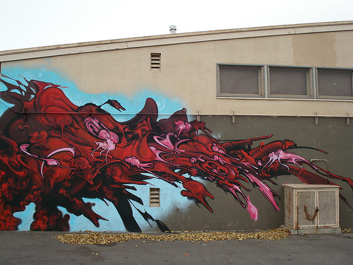 Ewok MSK AWR HM SeventhLetter LosAngeles Graffiti Art