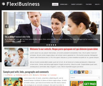 FlexiBusiness-Blogger-Template