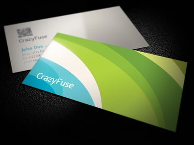 Free Business Card from Crazyfuse.com