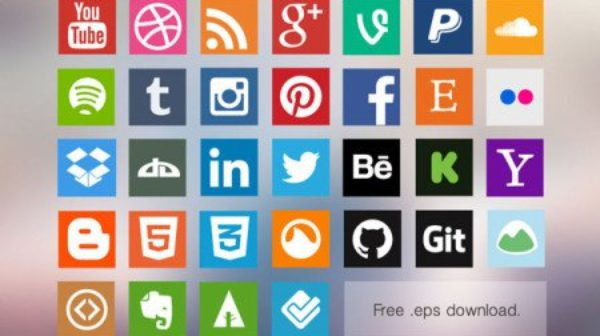 81 Best Free Social Media Icons and Buttons