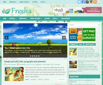 Fresha-Blogger-Template