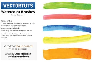 Illustrator Watercolor Brushes