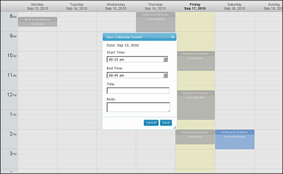 50 Best jQuery Calendar Plugins for Web Designers