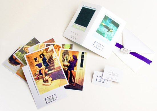 Megan Huntz Dresses Print Collateral