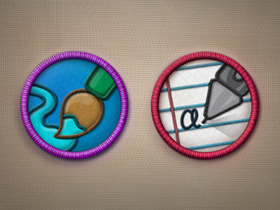 Merit Badges PSD File
