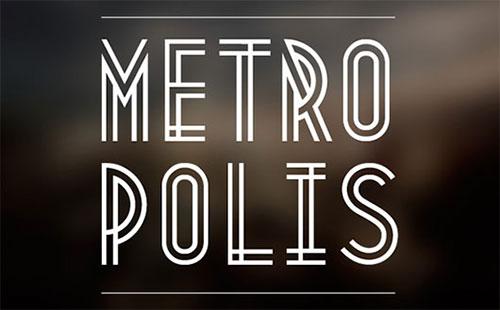 Metropolis 1920 Free Font Download