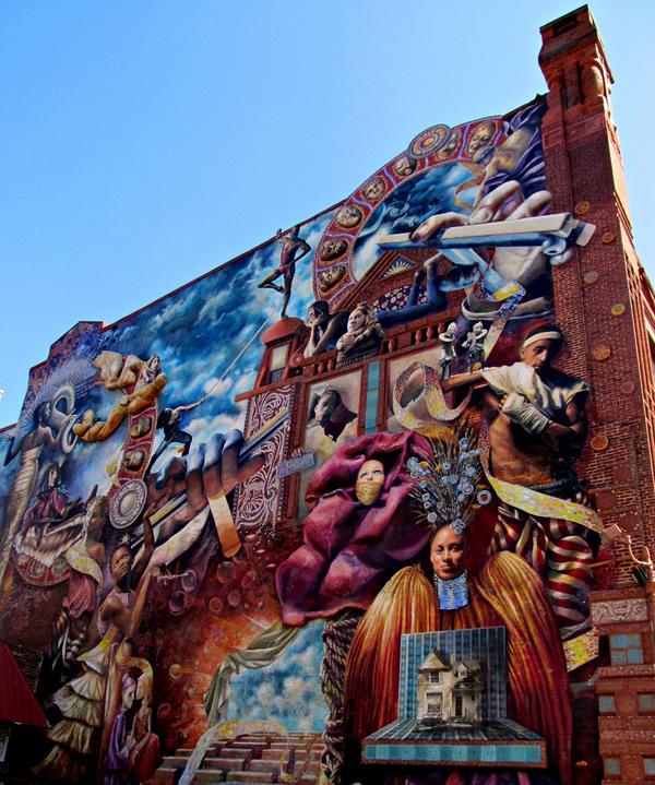Mural at Broad & Lombard Streets