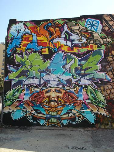 Revok Aroe Odisy LosAngeles Graffiti Art