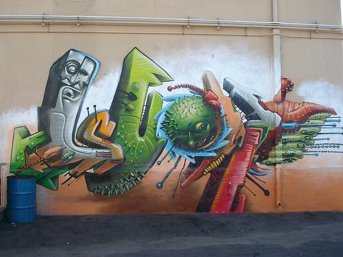 Seak LosAngeles Graffiti Art