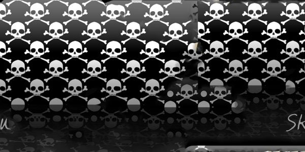 Seamless Skull Patterns