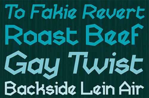 Skatekey Font Free Download