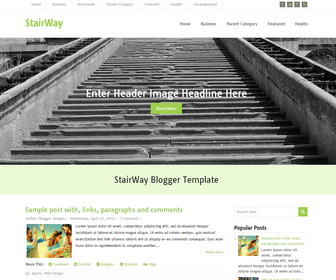 StairWay-Blogger-Template