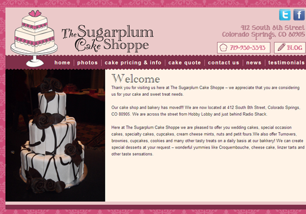 Sugarplum Cake Shoppe