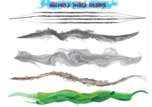 Swirly Brushes