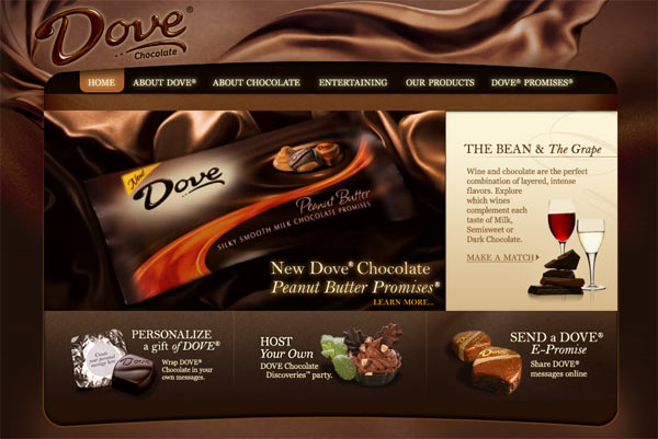 50 Impressive Designs of Coffee, Cake and Bakery Websites