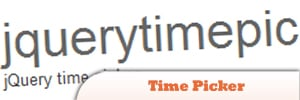 Time Picker jQuery Plugin