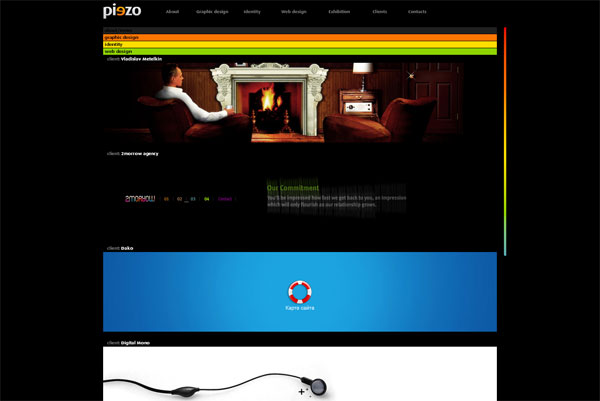 Ukrainian Creative Studio Piezo Design