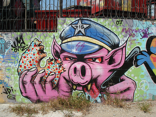 UmOne JDI LosAngeles Graffiti Art