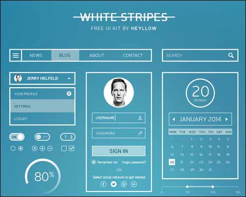 White_Stripes_UI_Kit_Free_Photoshop_PSD_UI_Kit