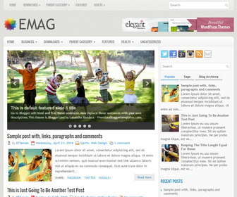 eMag-Blogger-Template