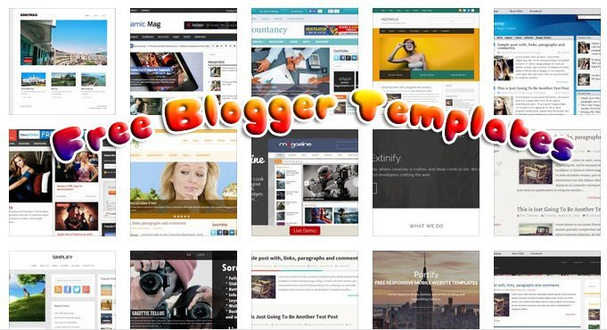 130 Fresh Free Blogger Templates for Downloads