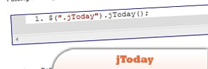 jQuery jToday Plugin