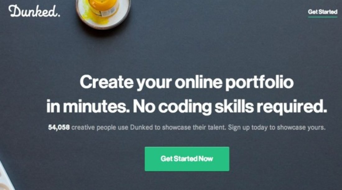 20 Free Portfolio Website for Making Great Portfolios