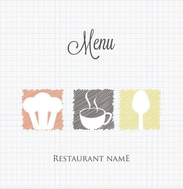 Free Menu Templates - coffee spoon image