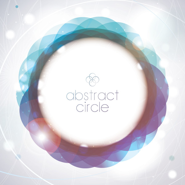 Abstract Circle Vector Graphic