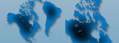 Americas Maps (North-South-Latin America, Alaska & all combined)