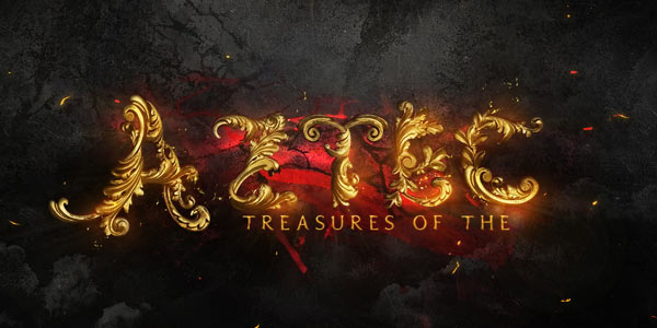 Create A Gold Ornamental Text In Photoshop