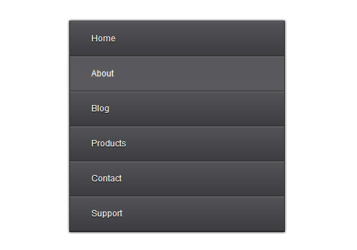 Create An Elegant CSS3 Navigation Menu
