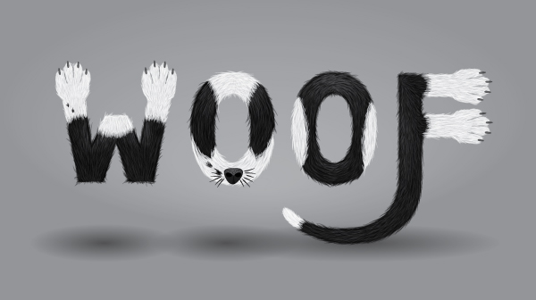 Create a Furry Calligram in Illustrator