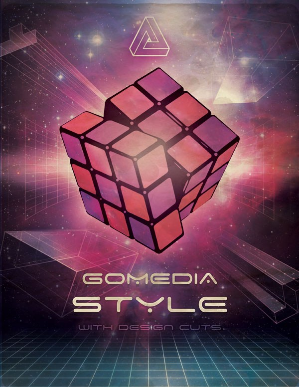 Create an 80s Style Poster Design with GoMedia