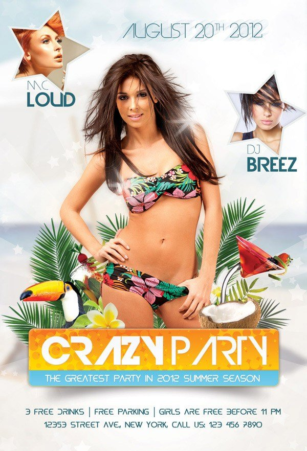 Create an Amazing Summer Flyer Design