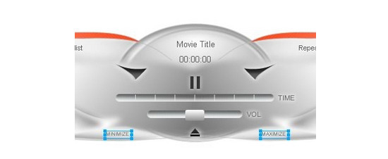 Designing a Media Player Skin