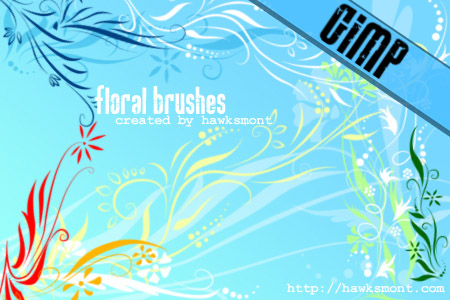 Floral Brushes from Hawksmont