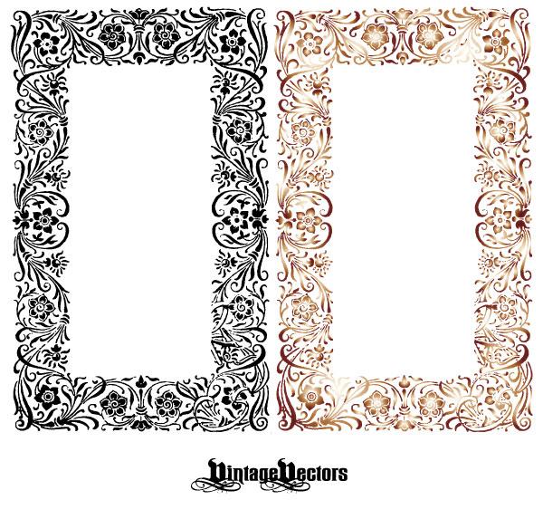 Floral Craft Art Frame