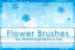 Flower Brushes by Dreamy Graphics